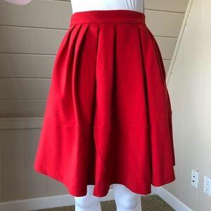 Red Banana Republic skirt